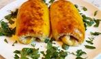 Картофельные рулетики с мясом - сытно, вкусно, экономно