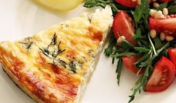 Готовим дома: киш Лорен с копченым лососем