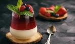 Ванильная панна-котта с малиновым желе: пошаговый рецепт