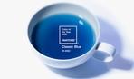 На честь головного кольору 2020 року випустили синій чай