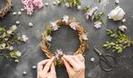 10 идей для нежных украшений из цветов