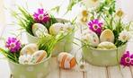 Оригинальные подставки под пасхальные яйца
