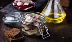 Сельдь с луком в льняном масле: рецепт вкусной закуски