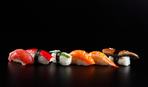 Необычное японское блюдо: сашими