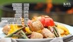 Ковбаски з овочами на грилі - рецепти Сенічкіна