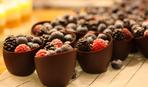 Как сделать корзиночки из шоколада