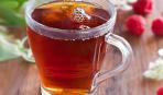 Согревающий имбирно-малиновый чай