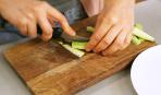 Салат из кабачков за 10 минут