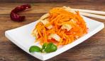 Вот, где витамины: салат из корейской морковки и мяса