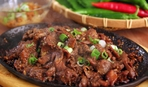 Поджарка из свинины: фото рецепт