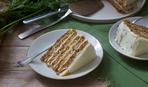 Морковный пирог с кардамоном