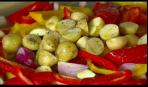 Ростбиф с овощами