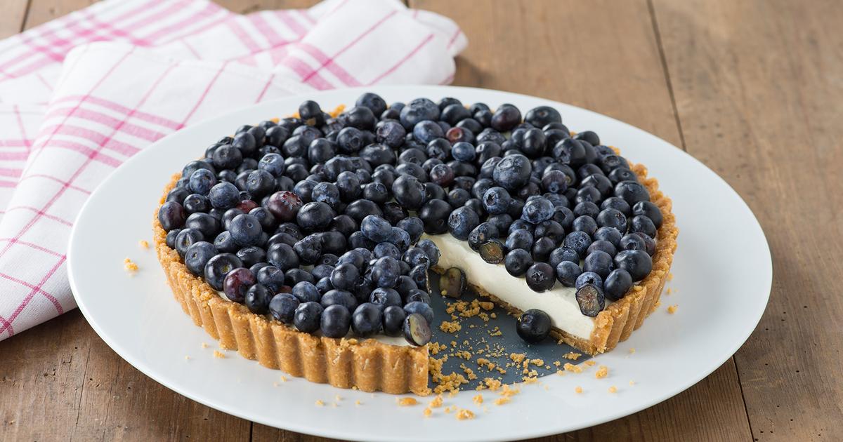 торт из голубики фото и рецепт кусочки