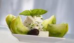Острый салат из зеленых помидоров на зиму (видео-рецепт)