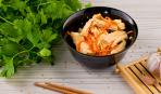 Соевая спаржа фучжу по-корейски с морковью