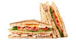 Прессованные бутерброды с салатом из цикория