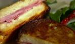 Бутерброды с ветчиной и манчего