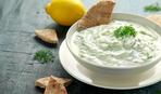 Соус из белых бобов с лавашом
