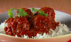 Мясные шарики с кабачком