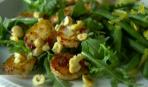 Морские гребешки с ореховым маслом