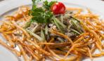 Очень вкусный пражский салат