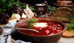 Обед - сытнее не бывает: борщ с бараниной по правильному рецепту