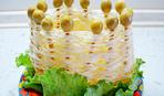 Съедобная корзинка для салатов (фото-рецепт)