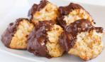 Масленица: миндальное шоколадно-кокосовое печенье