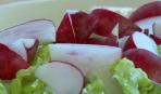 Салат с редисом и роменом