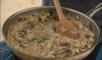 Ризони с курицей, грибами и шалфеем