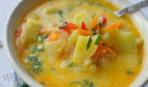 Тушеные овощи под сметанным соусом на Масленицу
