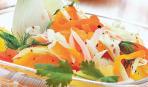 Рождественский салат с фенхелем и апельсином
