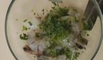 Креветки с дыней