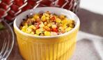 Аппетитная кукуруза Corn Bhel с тремя видами соусов