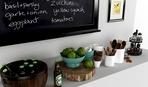 10 идей досок для записей в интерьере кухни