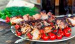 Шашлык из свинины с томатами: пошаговый рецепт