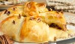 Французский рождественский пирог с сыром бри: пошаговый рецепт