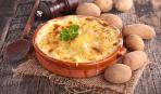 Готовим дома: запеканка с грибами и мясом под сырным соусом