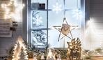Украшаем окна к Новому году: 10 милых идей