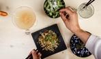 Холодный салат с лапшой от Йоши Фудзивары