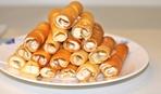 Что приготовить на десерт: блинные трубочки