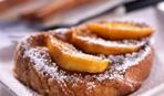 Pain perdu или сладкие тосты с персиками