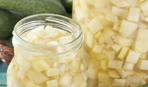 """""""Белый салат"""" - рецепт вкусной закрутки из патиссонов"""