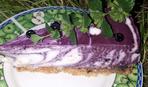Що приготувати на десерт: чорнично-сирний тарт