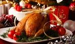 Рождественский гусь с яблочно-томатным пюре