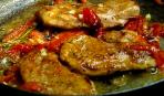Свинные эскалопы в кисло-сладком соусе