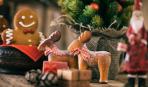 Бисквитное печенье «Северные олени»