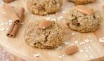 Овсяное печенье с миндалем и корицей