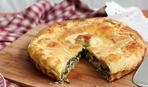Турта з м'ясом: рецепт смачного грецького пирога