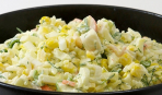 «Хитрый» салат из крабовых палочек от Марии Бурмаки
